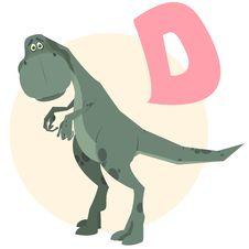 Free D_dinosaur Royalty Free Stock Photo - 19052835