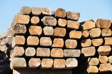 Free Construction Timber Royalty Free Stock Photos - 19053338