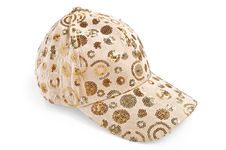 Free Cap Beige Patterned Royalty Free Stock Photo - 19053345