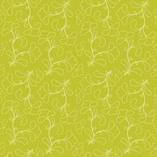 Free Green Seamless Background. Royalty Free Stock Photography - 19054687
