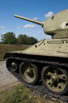 Free Tank T-34 Stock Photo - 19054870