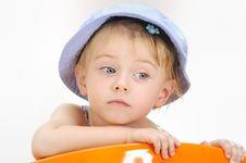 Free Fashion Little Girl In Studio Stock Photo - 19056500