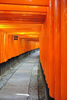 Fushimi Inari Taisha Royalty Free Stock Photography