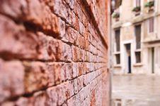 Free Venetian Wall Stock Photo - 19057790