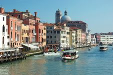 Free Venice Grand Canal View,Italy Royalty Free Stock Photos - 19057988