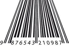 Free Barcode Perspective Royalty Free Stock Image - 19059256