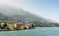 Free Malcesine From The Lake Royalty Free Stock Photos - 19059298