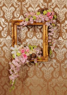 Free Flower And Frame Stock Image - 19059651