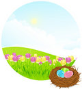 Free Easter Landscape Stock Photography - 19067622