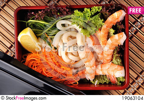 Free Japanese Cuisine Stock Images - 19063104