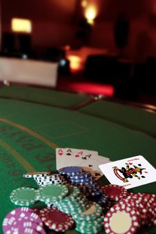 Free Four Aces And A Joker Stock Image - 19060021