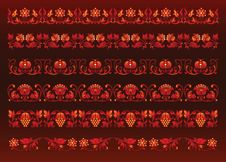 Free Seamless Floral Patterns Stock Images - 19060064