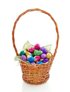 Free Colorful Easter Eggs Stock Images - 19060094
