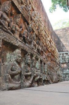 Free Angkor Stone Craving Stock Photos - 19060293