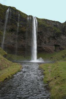 Free Seljalandsfoss Waterfall Royalty Free Stock Photography - 19060297