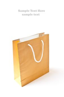 Free Brown Shopping Paper Bag Stock Photo - 19061110