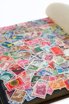 Free Swiss Stamps Stock Photo - 19061290
