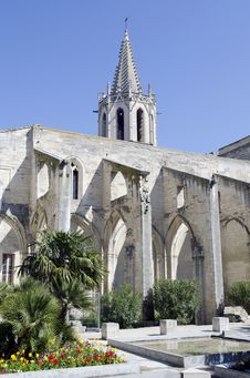 Free Protestant Church In Avignon Stock Photography - 19061722