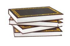 Group Of Books Stock Photo