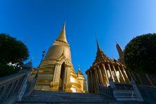 Free Grand Palace Bangkok Wat Phra Kaew, Thailand. Royalty Free Stock Photography - 19062497