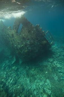 Free Wreck Of The Kormoran Royalty Free Stock Photos - 19063258