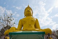 Free Golden Budda, Royalty Free Stock Image - 19063486