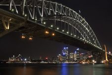Free Sydney Harbour Bridge & Opera House Stock Image - 19063961