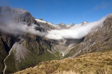 Free Mackinnon Pass - Milford Track Royalty Free Stock Photos - 19064338