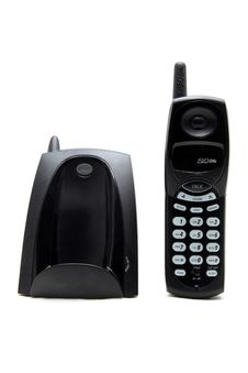 Free Black Cordless Telephone Stock Photos - 19065003