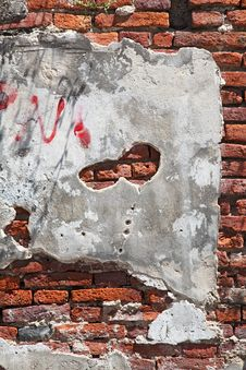 Free Fragment Of Red Brick Wall Royalty Free Stock Image - 19065096