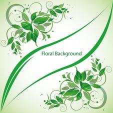 Free Abstract Floral Background Royalty Free Stock Photos - 19065128
