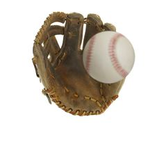 Free Baseball Heading For The Glove Royalty Free Stock Photos - 19065258
