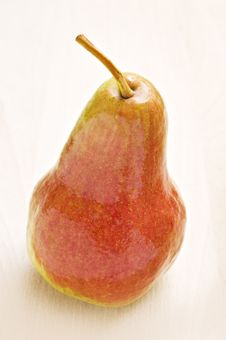 Free Ripe Pear In Autumn Colors Stock Image - 19066341