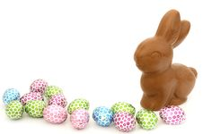 Free Chocolate Easter Bunny Royalty Free Stock Images - 19066559