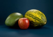Selection Of Fruits Stock Image