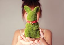 Free My Darling Rabbit Stock Images - 19066834