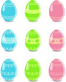 Free Easter Eggs Stock Image - 19067491
