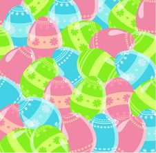 Free Easter Eggs Royalty Free Stock Photo - 19067515