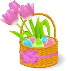 Free Easter Basket Stock Photography - 19067522