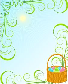 Free Easter Frame Royalty Free Stock Images - 19067559