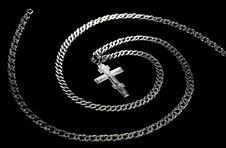 Chain And Cross Stock Photos