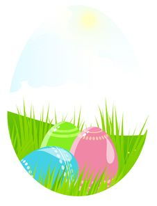 Free Easter Landscape Royalty Free Stock Photography - 19067637