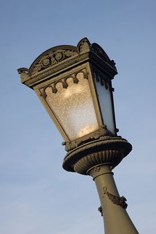 Free Street Lamp Royalty Free Stock Photo - 19067805