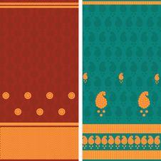 Free Sari Design Stock Photography - 19068622