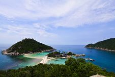 Free Viewpoint Of Koh Nangyuan Royalty Free Stock Photos - 19069048