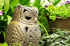 Free Clay Owl Royalty Free Stock Photos - 19069858