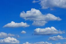 Free Fluffy Clouds Stock Photos - 190676263
