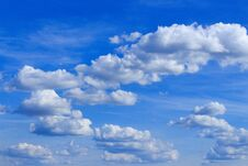 Free Fluffy Clouds Stock Image - 190676291