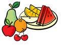 Free Fruits Royalty Free Stock Photos - 19072828