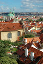 Free St. Nicholas Church And The Red Roofs In Prague Stock Photo - 19078260